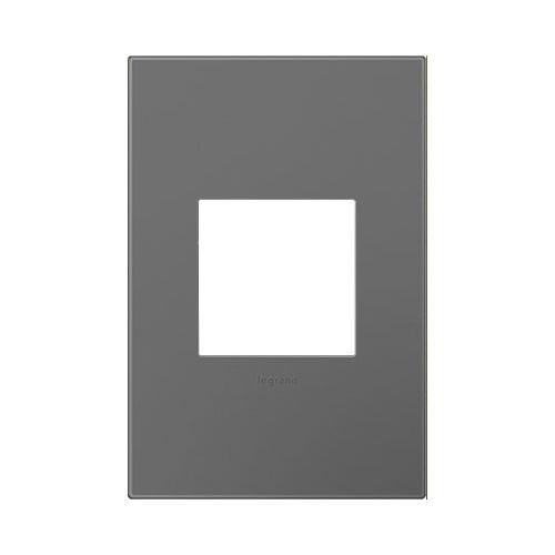 Legrand AWP1G2MG6 adorne 1 Gang Plastic Wall Plate - 3.5 Inches Wide