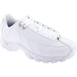 K-Swiss Men's ST329 CMF White/Silver