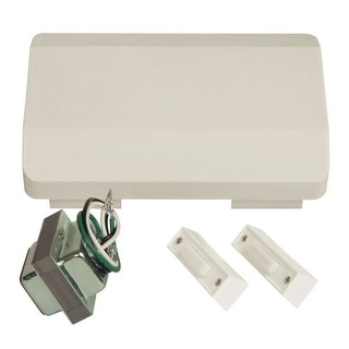 Craftmade C105L Builder ADA Compliant Door Chime Kit - Single Chime, Two Pushbuttons and 16V Transformer Included