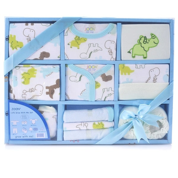 JOON 11-Piece New Born Baby Essentials Gift Set 0-6 Month