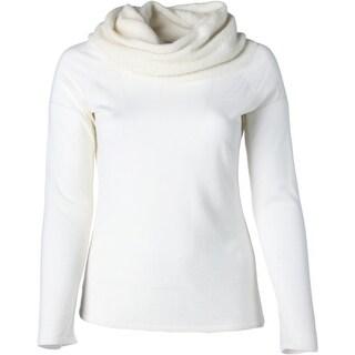 Elie Tahari Womens Dena Extra Fine Merino Wool Knit Pullover Top