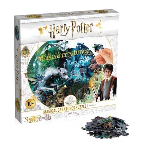 "Top Trumps Harry Potter ""Magical Creatures"" 500 Piece Puzzle"