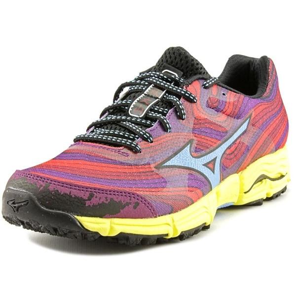Mizuno Wave Kazan Round Toe Synthetic Running Shoe