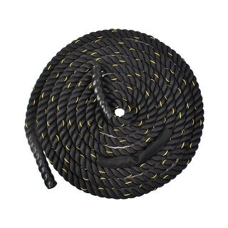 "Costway 2"" 40ft Poly Dacron Battle Rope Exercise Workout Strength Training Undulation (40ft)"