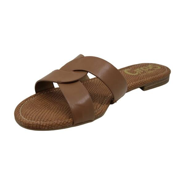 Circus by Sam Edelman Womens Clover Open Toe Casual Slide Sandals