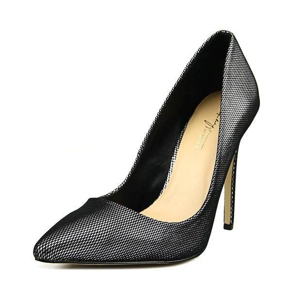 Daya by Zendaya Kyle Women Pointed Toe Synthetic Black Heels