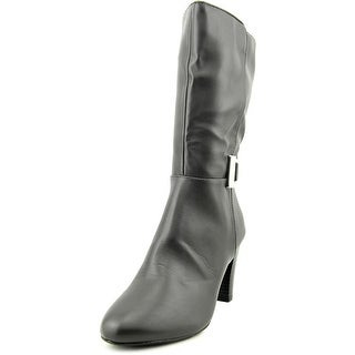 Karen Scott Viivi Women  Round Toe Synthetic Gray Mid Calf Boot