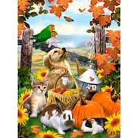 """Autumn Festival - Junior Small Paint By Number Kit 8.75""""X11.75"""""""