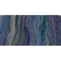 """Blue Variegated - Wool Roving 12"""" .22Oz"""