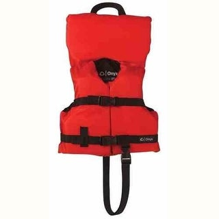 Onyx General Purpose Life Vest Infant Red