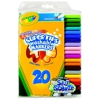 Crayola Non-Toxic Washable Marker Set With 5 Scented Markers -