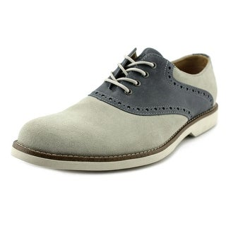 GH Bass & Co Parker Round Toe Leather Oxford