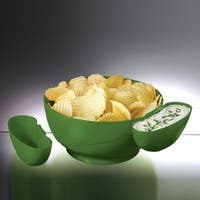 Prodyne CD-10-G Chips and Dips- Green- Pack of 4