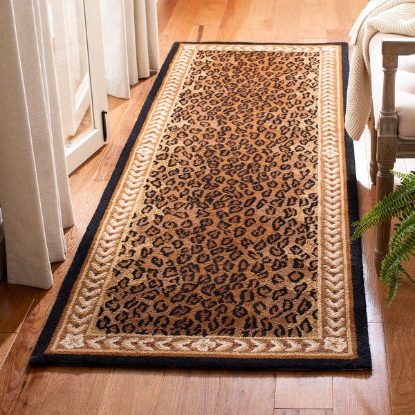 Safavieh Hand-hooked Chelsea Cayla Country Oriental Wool Rug. Opens flyout.