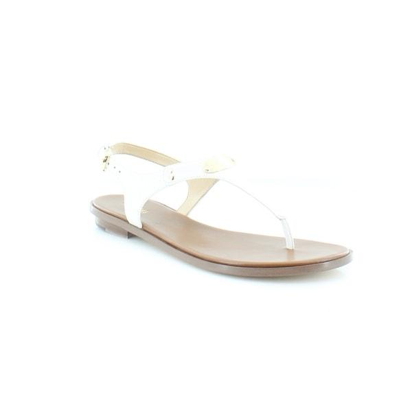 175a43d85f94b Shop Michael Kors Plate Jelly Sandals Women s Sandals   Flip Flops ...