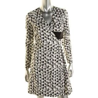 J.W. Anderson Womens Wrap Dress Silk Buckle - m