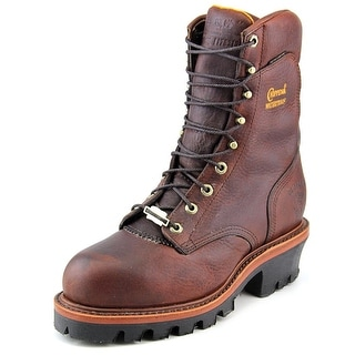 "Chippewa 9"" Logger Waterproof Steel Men 3E Steel Toe Leather Work Boot"