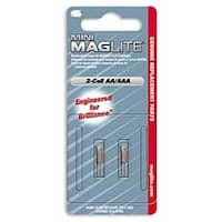 MagLITE MAGLM2A001 Replacement Mini-Mag AA Bulbs- 2 Pack
