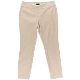 Nic + Zoe Womens Pull On Stretch Casual Pants