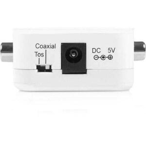Startech Spdifcoaxtos 2 Way Digital Coax To Toslink Optical Audio Converter Repeater