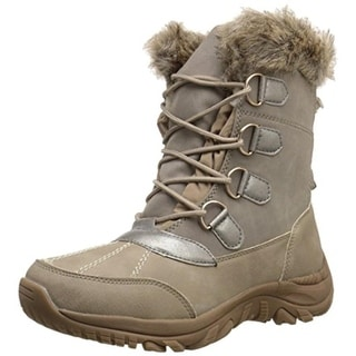Call It Spring Womens Rendahl Winter Boots Microsuede Faux Fur