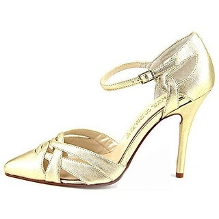 E! Live From The Red Carpet Womens LUANN Pointed Toe Ankle Strap Classic Pumps