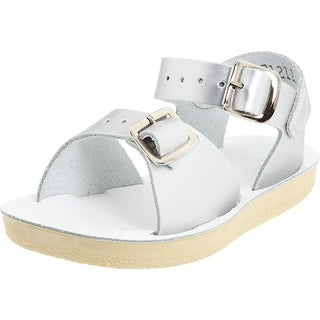 Kids Salt Water Sandals Girls Surfer Buckle Ankle Strap Slide Sandals