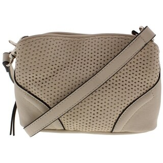 French Connection Womens Brett Crossbody Handbag Faux Leather Convertible - small