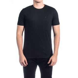 Versace Collections Men Medusa Logo Crew Neck T-Shirt Black
