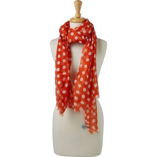 Link to Tickled Pink Large Traditional Polkadots Scarf Similar Items in Scarves & Wraps