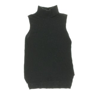 French Connection Womens Wool Blend Hi-Low Sweater Vest