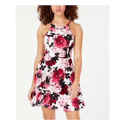 SPEECHLESS Pink Sleeveless Short A-Line Dress Size 11
