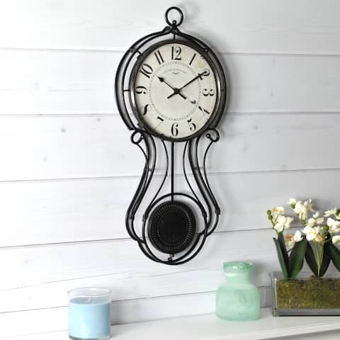 FirsTime & Co. Harwick Pendulum Wall Clock - 9.1 x 2.36 x 20