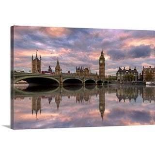 """""""A Sunset To Remember"""" Canvas Wall Art"""