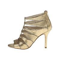 MICHAEL Michael Kors Womens Mavis Leather Open Toe Special Occasion Ankle Str...