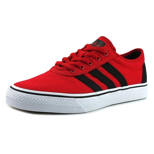 Shop Adidas Adi-Ease Men Round Toe Canvas Red Sneakers - Free ... be190ad8947f