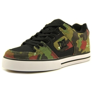 DC Shoes Pure Sp Men Round Toe Canvas Green Sneakers