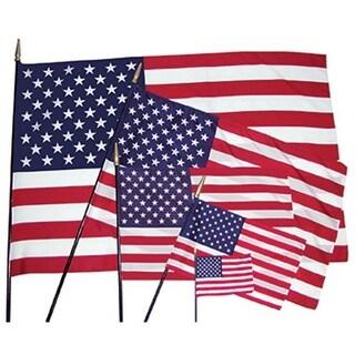 Heritage Us Classroom Flag 12 X 18 Flag 3-8 X 30 Staff