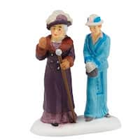"Department 56 Downton Abbey Series ""Dowager Countess & Young Friend"" Figurine #4044802"