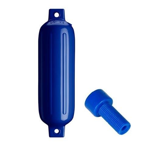 Polyform G-3 Twin Eye Fender - Cobalt Blue Twin Eye Fender - Cobalt Blue with Air Adapter
