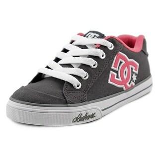 DC Shoes Chelsea TX Round Toe Canvas Skate Shoe