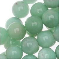 Pale Aqua Green Amazonite 8mm Round Beads /15.5 Inch