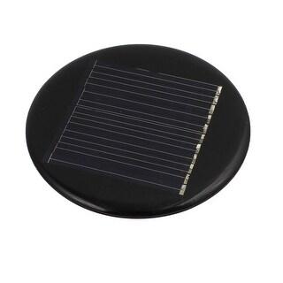 64mm Diameter 5V 35mA Low-power Silicon Solar Panel Module Charging Board