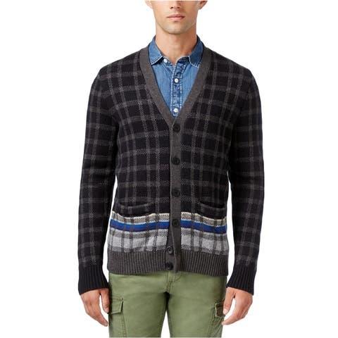 Tommy Hilfiger Mens Knit Cardigan Sweater