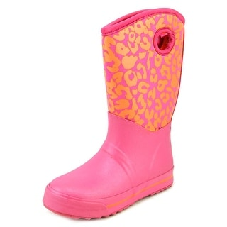 Skechers Puddle Princess Round Toe Synthetic Rain Boot