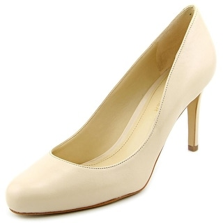 Marc Fisher Universe 2 Women  Round Toe Leather Ivory Heels