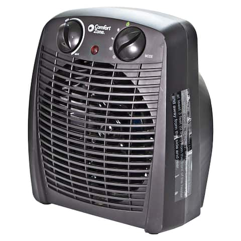 Comfort Zone CZ45E Personal Heater - 1500W, with Overheat Safety Sensors