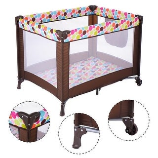 Graco Travel Lite Crib In Winslet Free Shipping Today