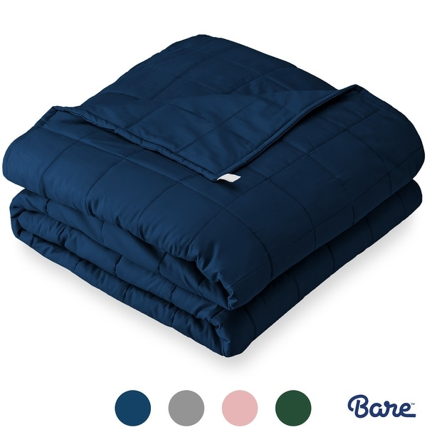 Bare Home 100% Cotton Weighted Sensory Blanket. Opens flyout.
