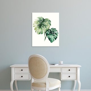Easy Art Prints Grace Popp's 'Tropical Plant II' Premium Canvas Art